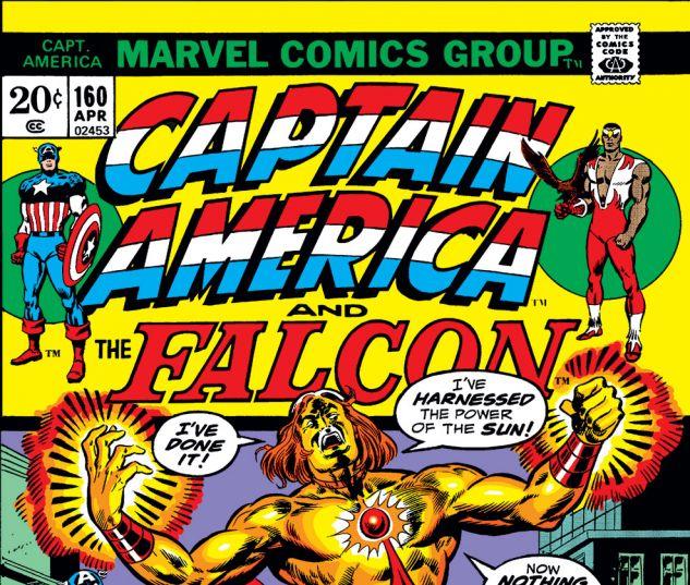 Captain America (1968) #160