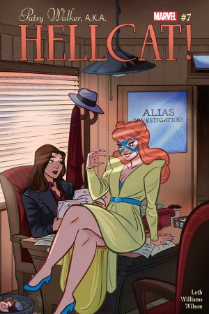 Patsy Walker, a.K.a. Hellcat! #7