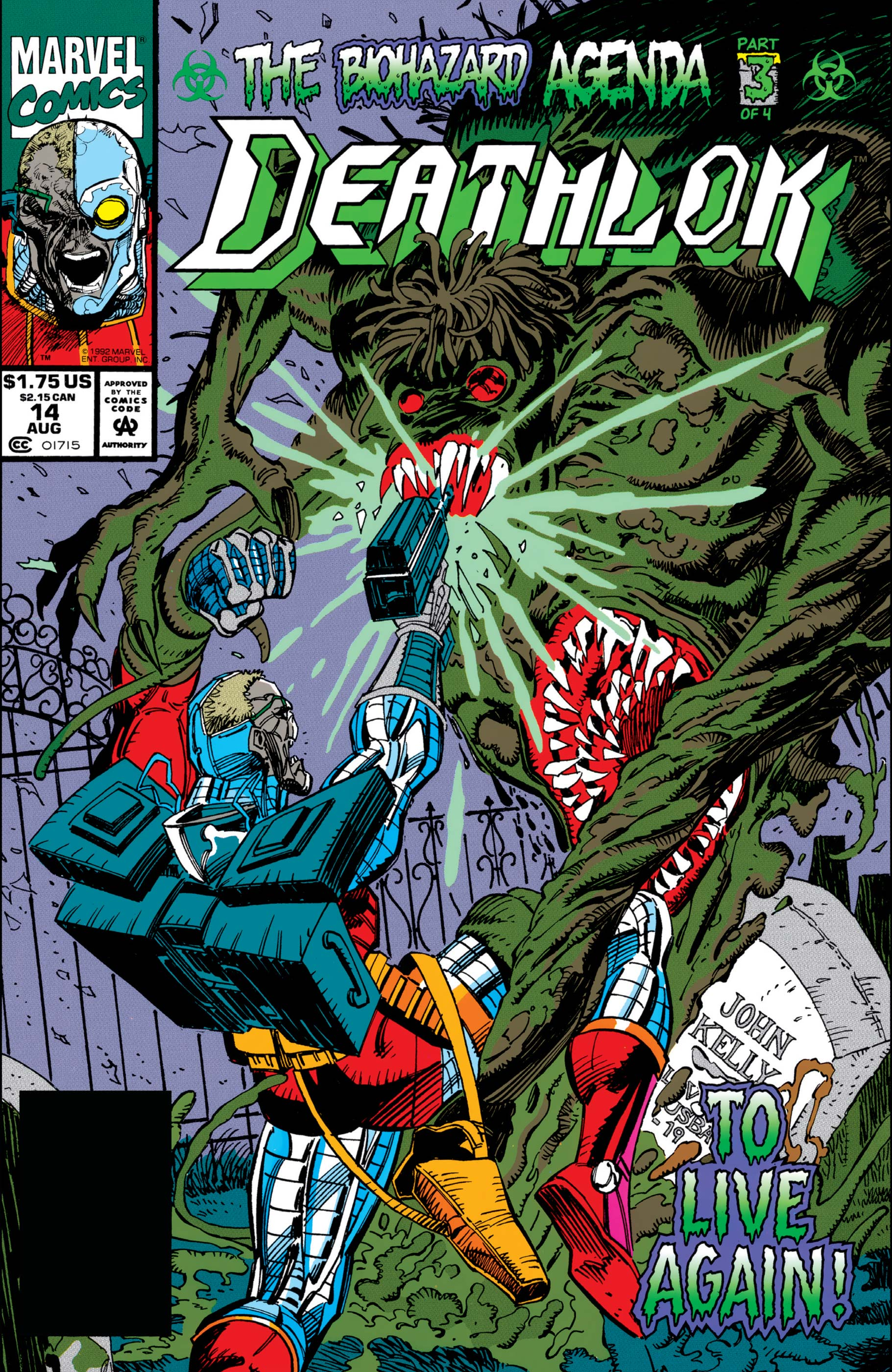 Deathlok (1991) #14