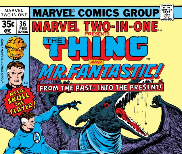 Marvel Two-in-One (1974) #36