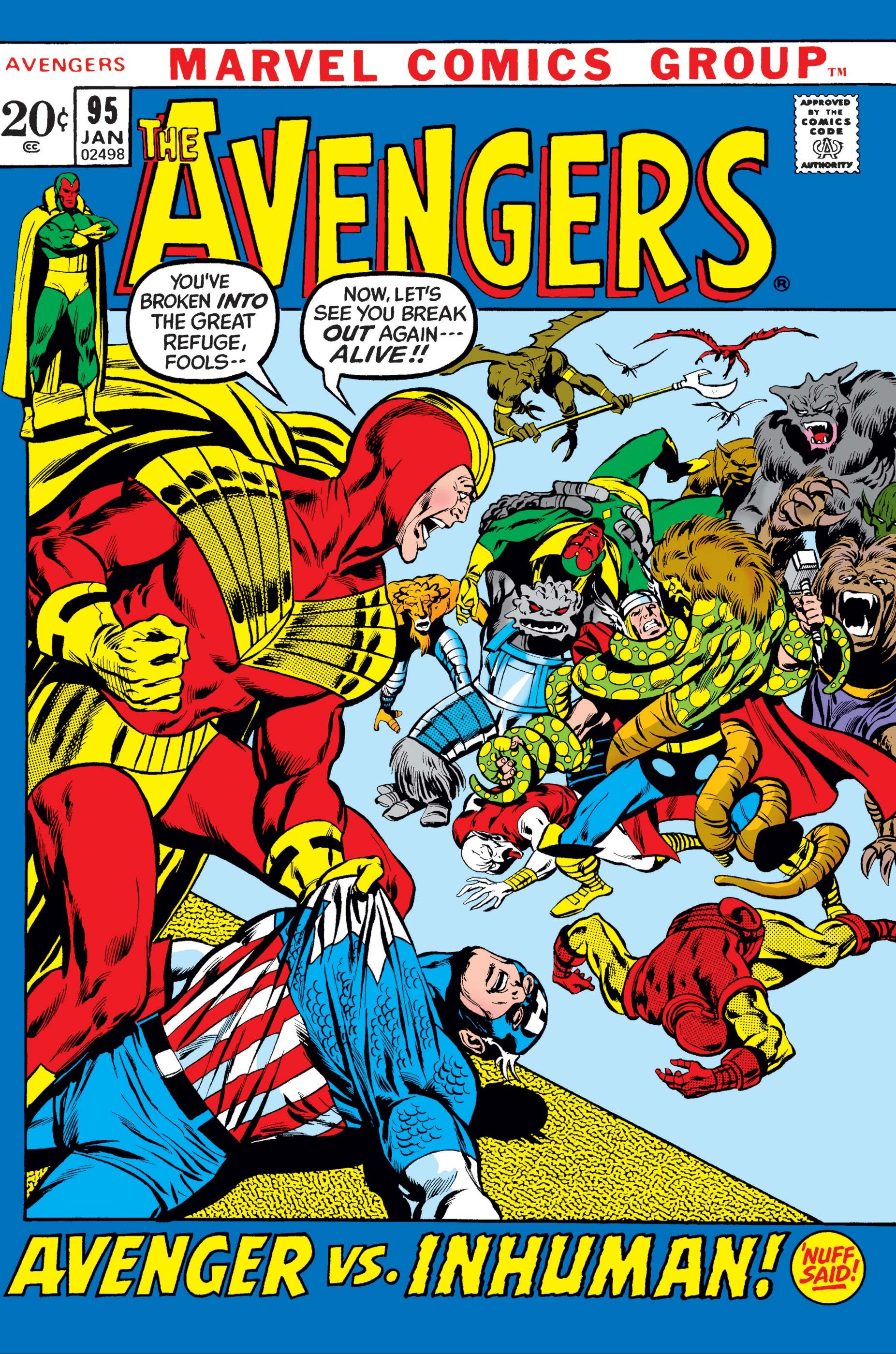Avengers (1963) #95