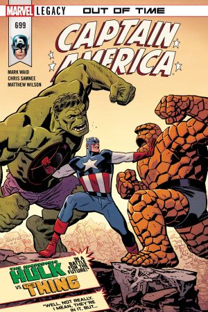 Captain America (2017) #699