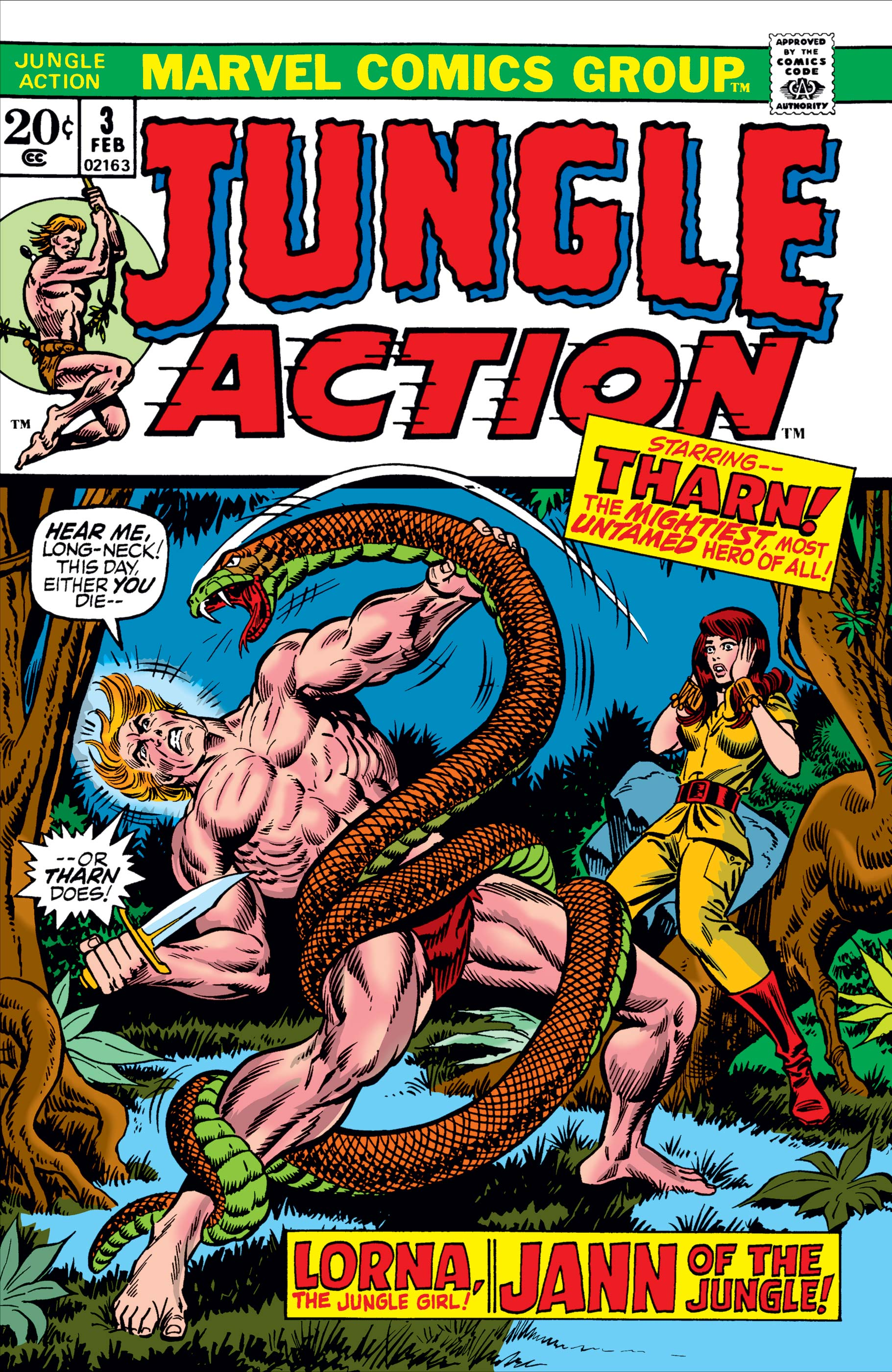Jungle Action (1972) #3