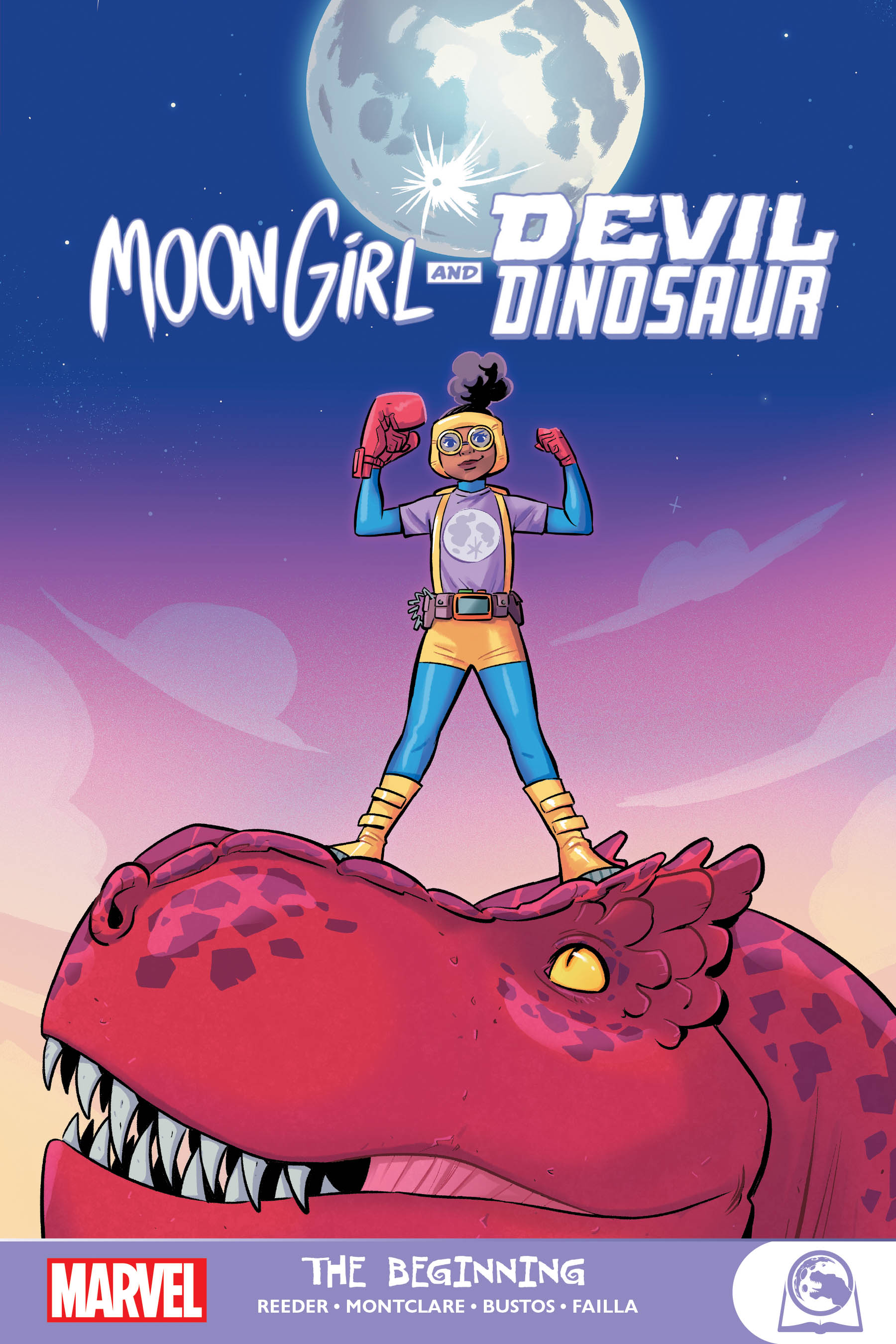 Moon Girl and Devil Dinosaur: The Beginning (Trade Paperback)
