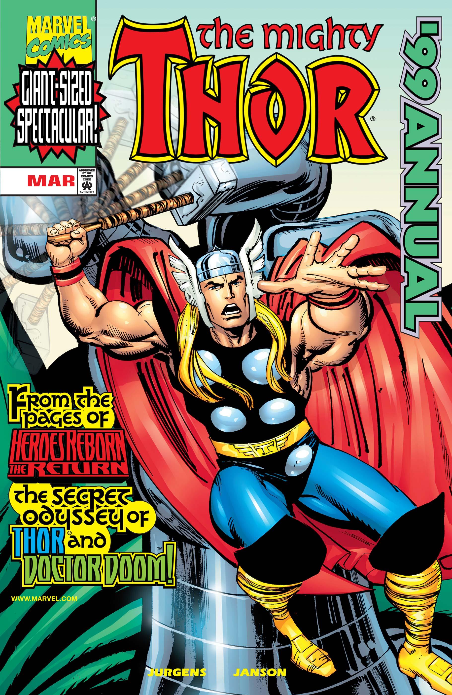 Thor Annual (1999) #1