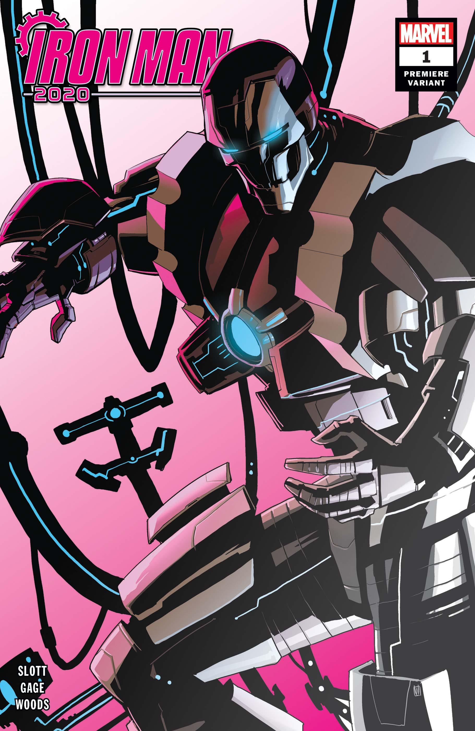 Iron Man 2020 (2020) #1 (Variant)