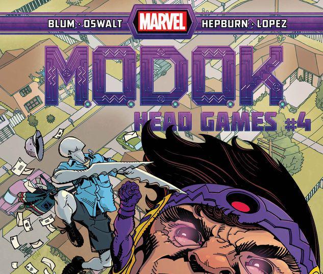 M.O.D.O.K.: Head Games #4