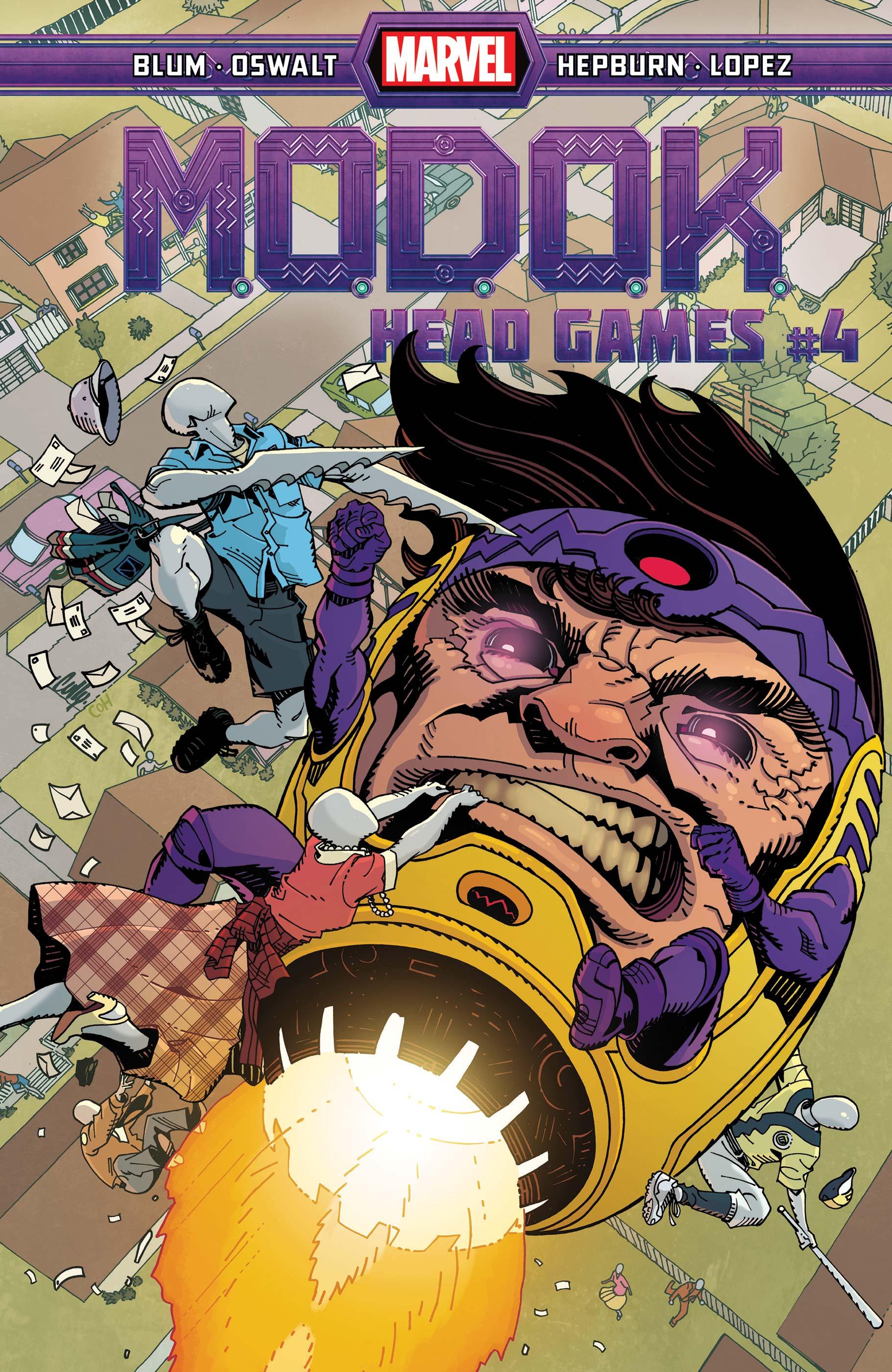 M.O.D.O.K.: Head Games (2020) #4