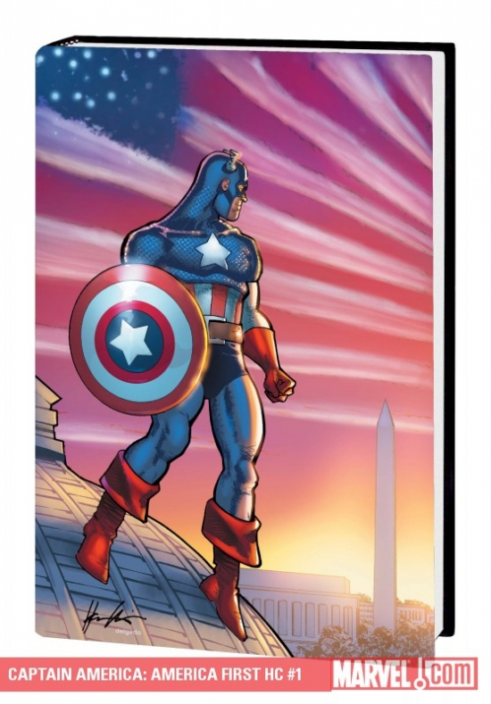 Captain America: America First (Hardcover)