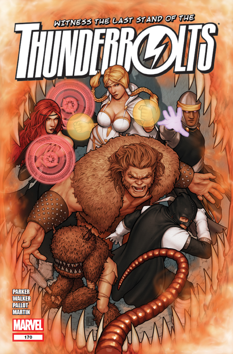 Thunderbolts (2006) #170