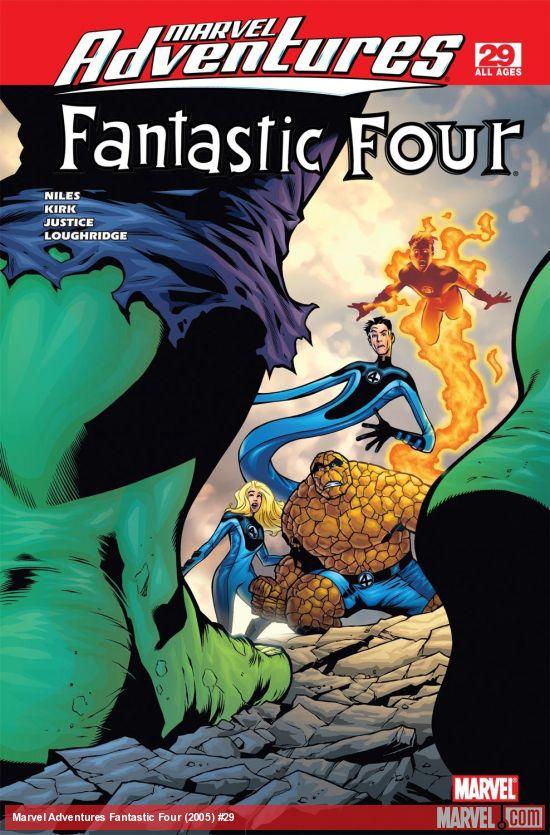 Marvel Adventures Fantastic Four (2005) #29