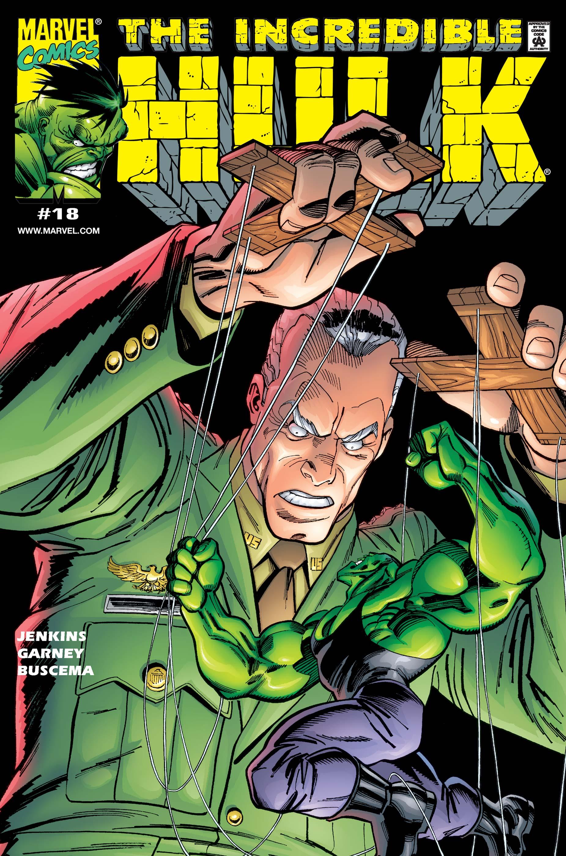 Hulk (1999) #18