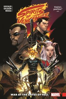 Spirits of Vengeance: War at the Gates of Hell (Trade Paperback)