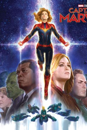Marvel's Captain Marvel: The Art Of The Movie (Hardcover)