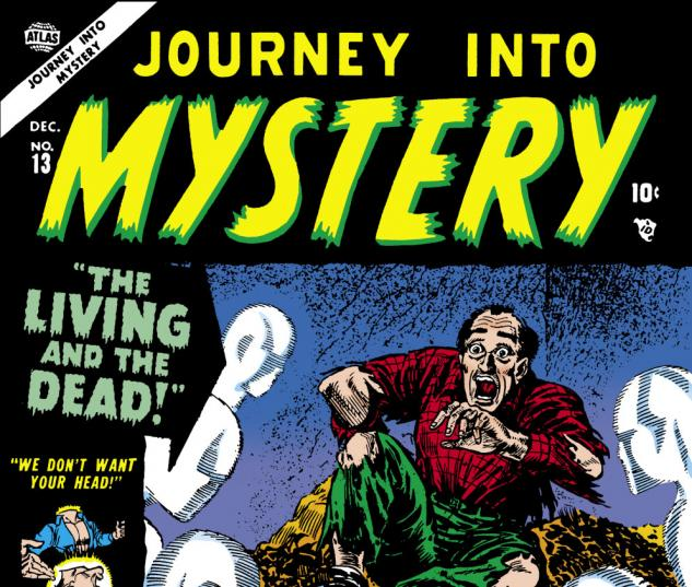 Journey Into Mystery (1952) #13 Cover