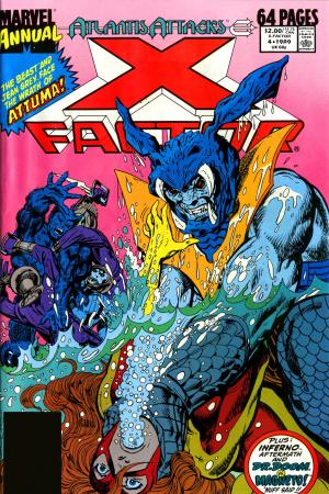 X-Factor 1986 series annual # 5 very fine comic book