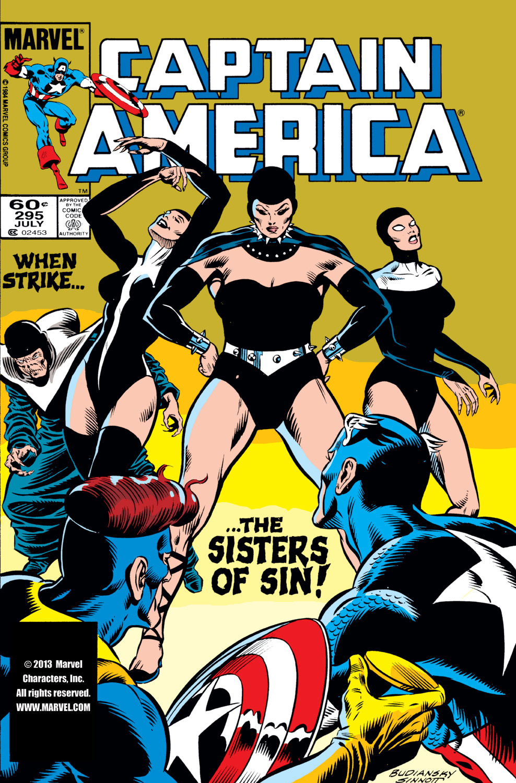Captain America (1968) #295