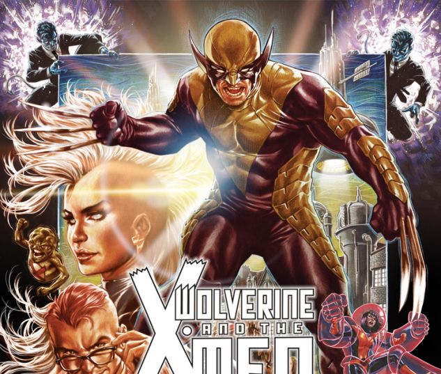 WOLVERINE & THE X-MEN 1 BROOKS VARIANT (ANMN, WITH DIGITAL CODE)
