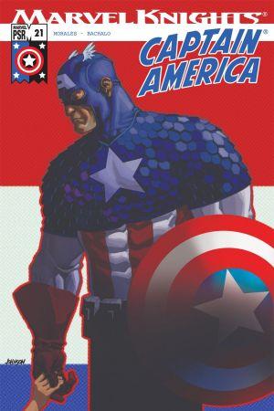 Captain America #21