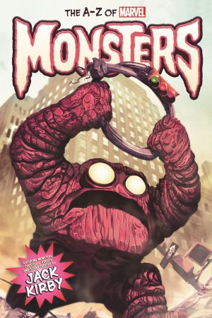 THE A-Z OF MARVEL MONSTERS HC (Hardcover)