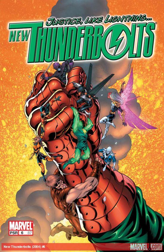 New Thunderbolts (2004) #6