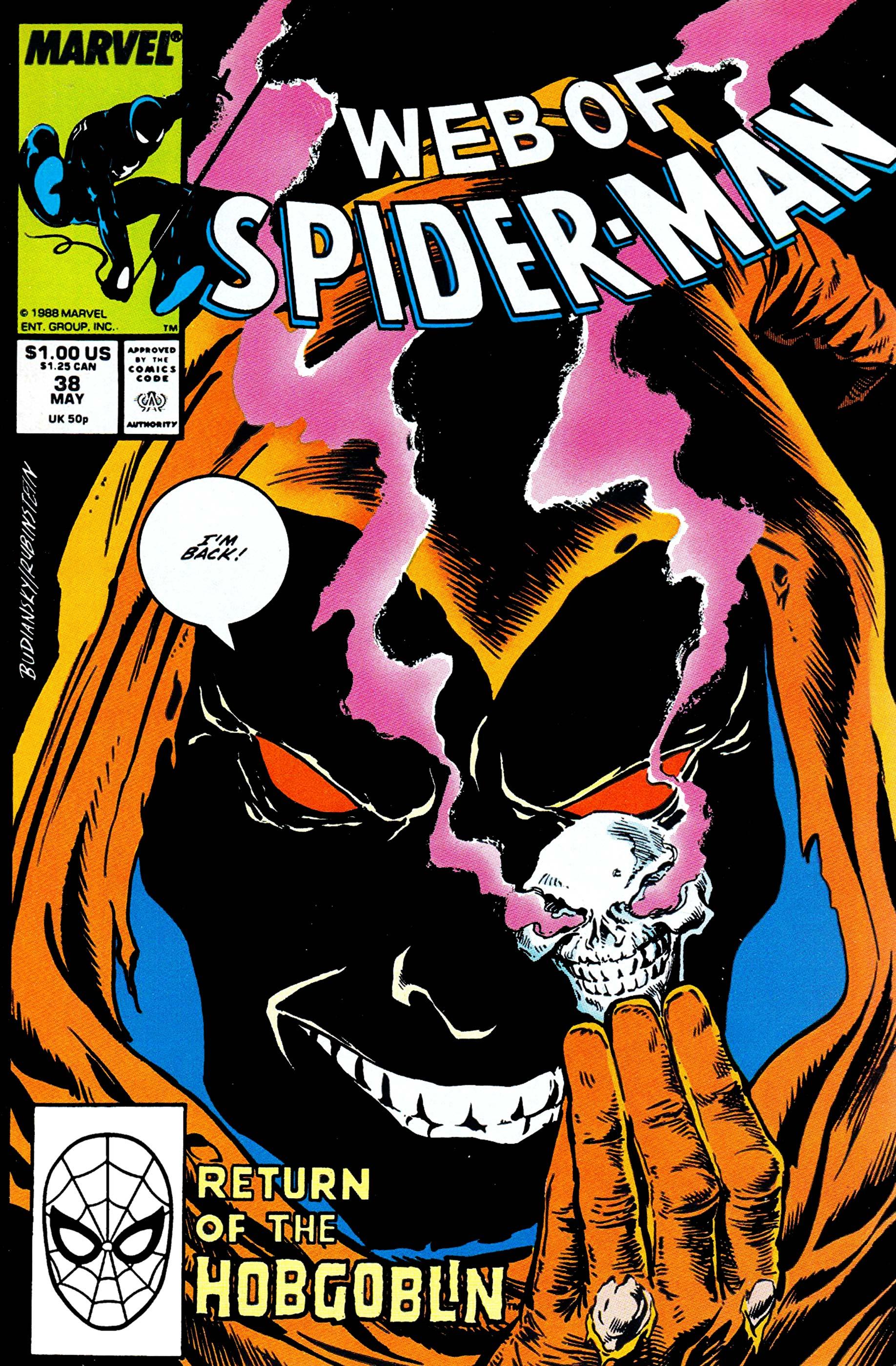 Web of Spider-Man (1985) #38