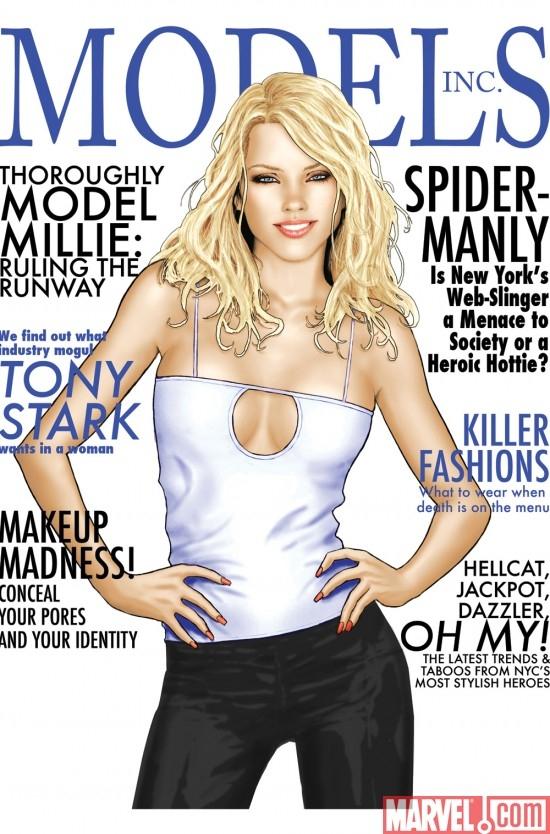 Models, Inc. (2009) #1