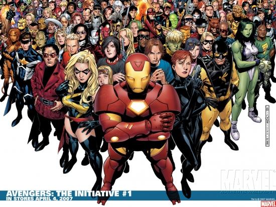 Avengers: The Initiative (2007) #1 Wallpaper