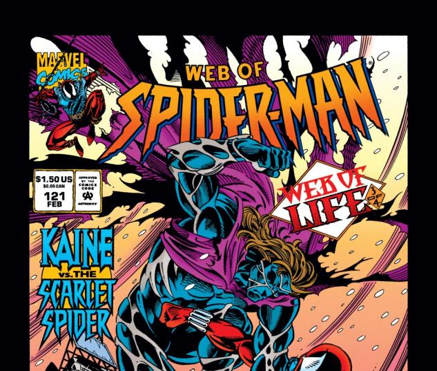 Web of Spider-Man (1985) #121 Cover