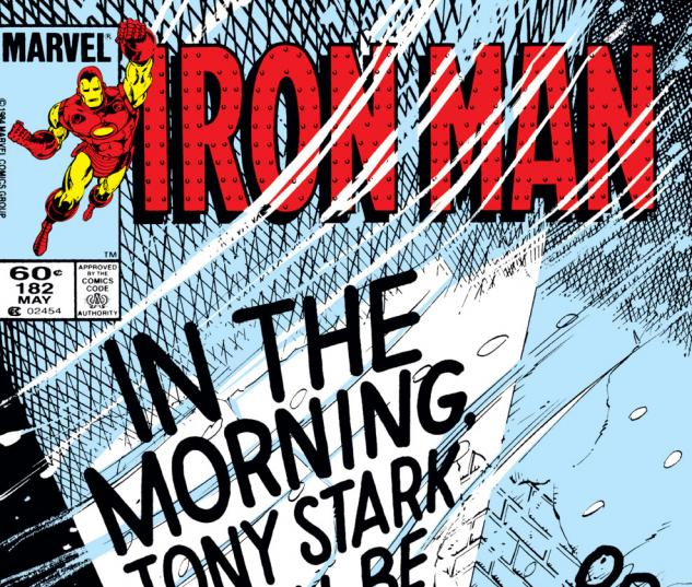 Iron Man (1968) #182 Cover