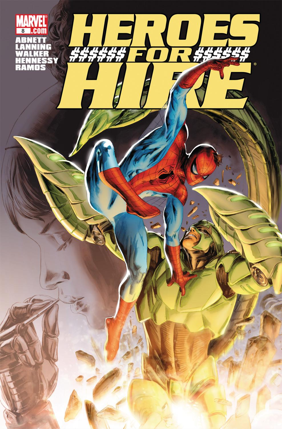 Heroes for Hire (2010) #8