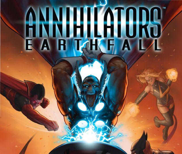 Annihilators: Earthfall (2011) #1 Cover