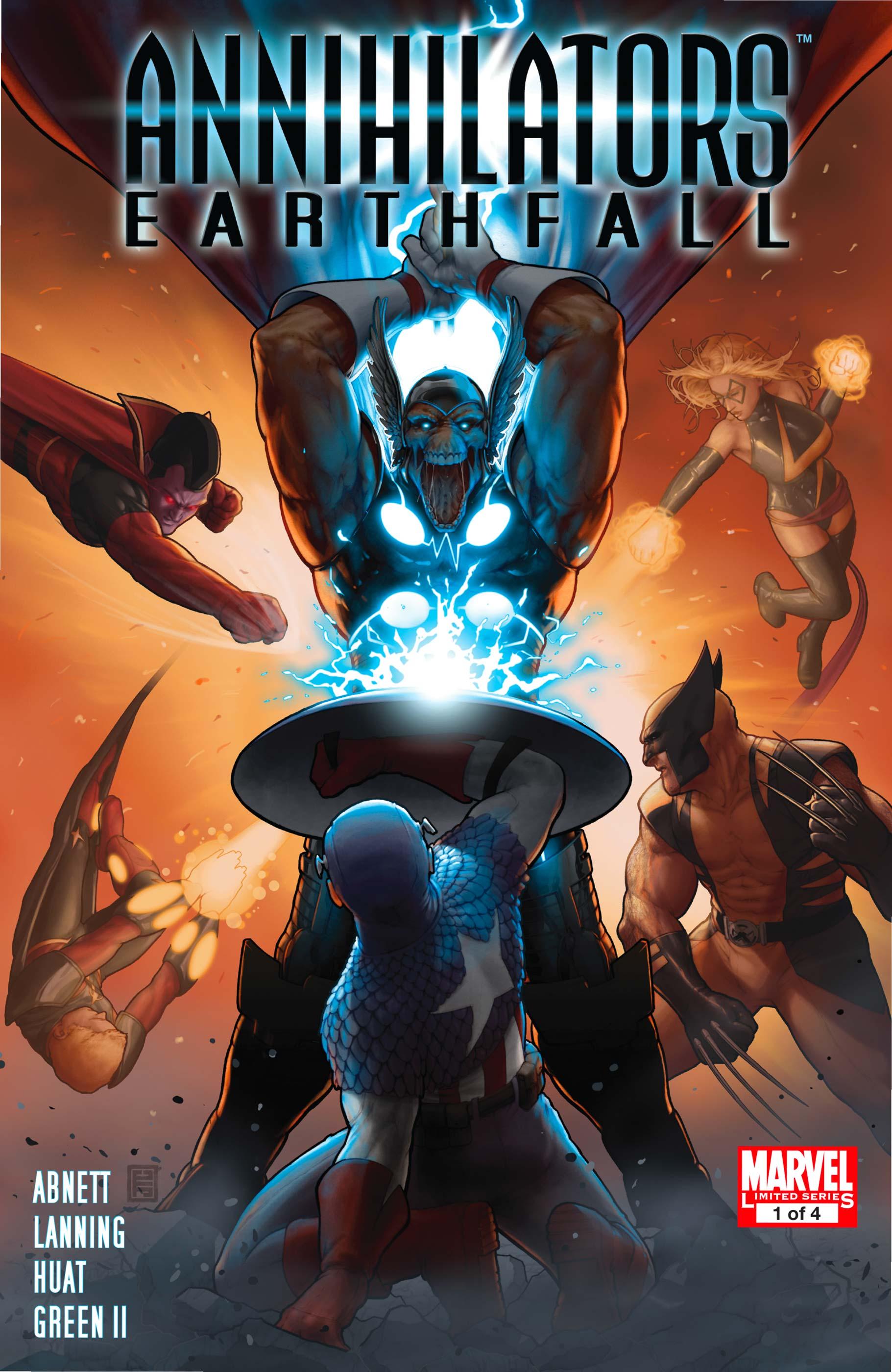 Annihilators: Earthfall (2011) #1