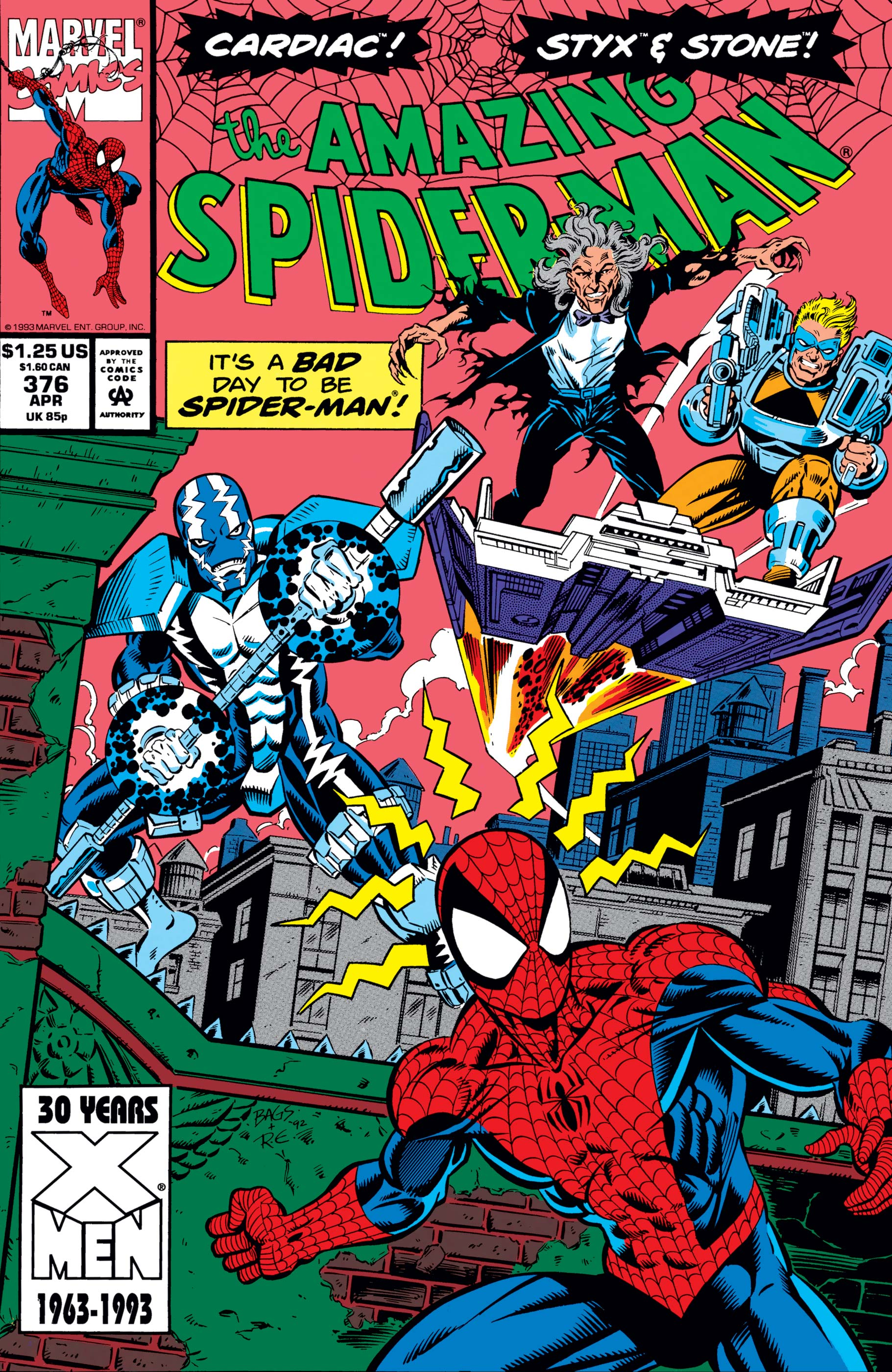 The Amazing Spider-Man (1963) #376