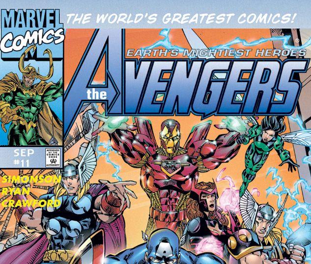 Avengers (1996) #11