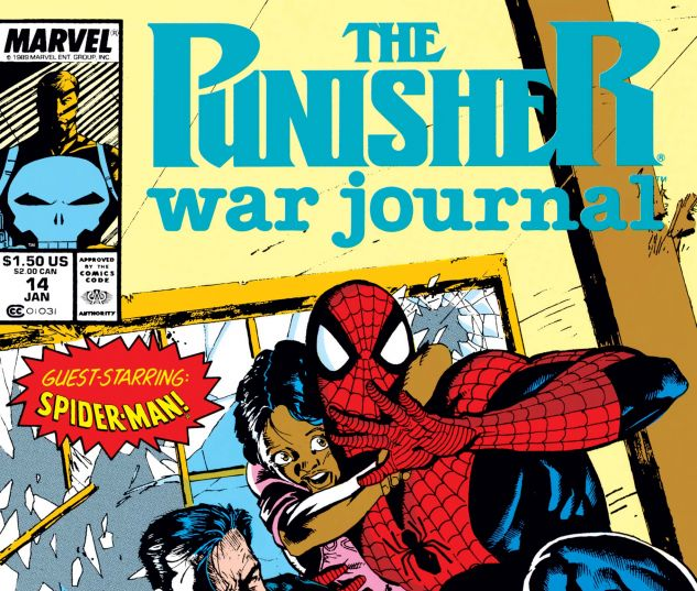 Cover for PUNISHER WAR JOURNAL 14