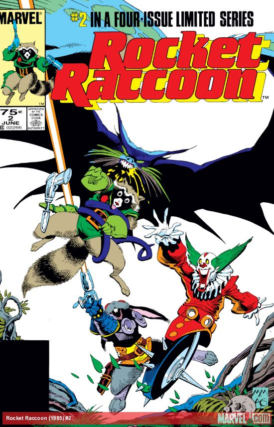 Rocket Raccoon (1985) #2