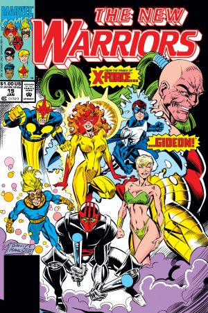 New Warriors (1990) #19