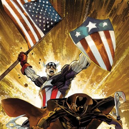 Captain America/Black Panther: Flags of Our Fathers #1 cover