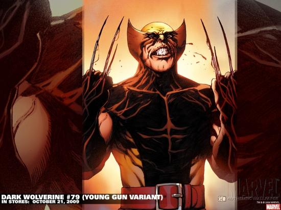 Dark Wolverine (2009) #79 Wallpaper