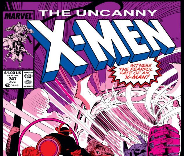 Uncanny X-Men (1963) #247 Cover
