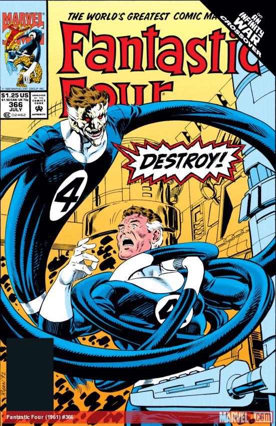 Fantastic Four (1961) #366