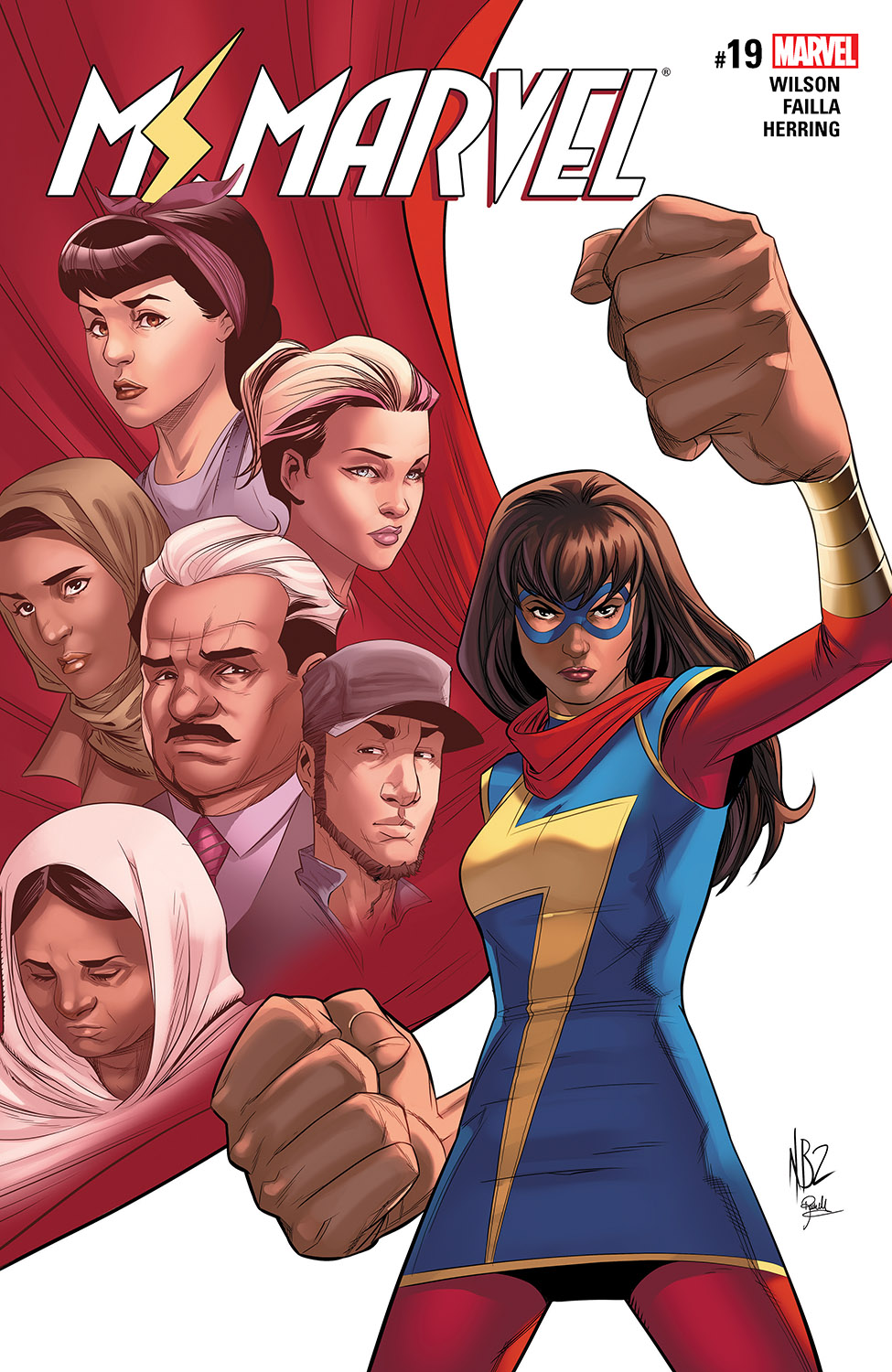 Ms. Marvel (2015) #19