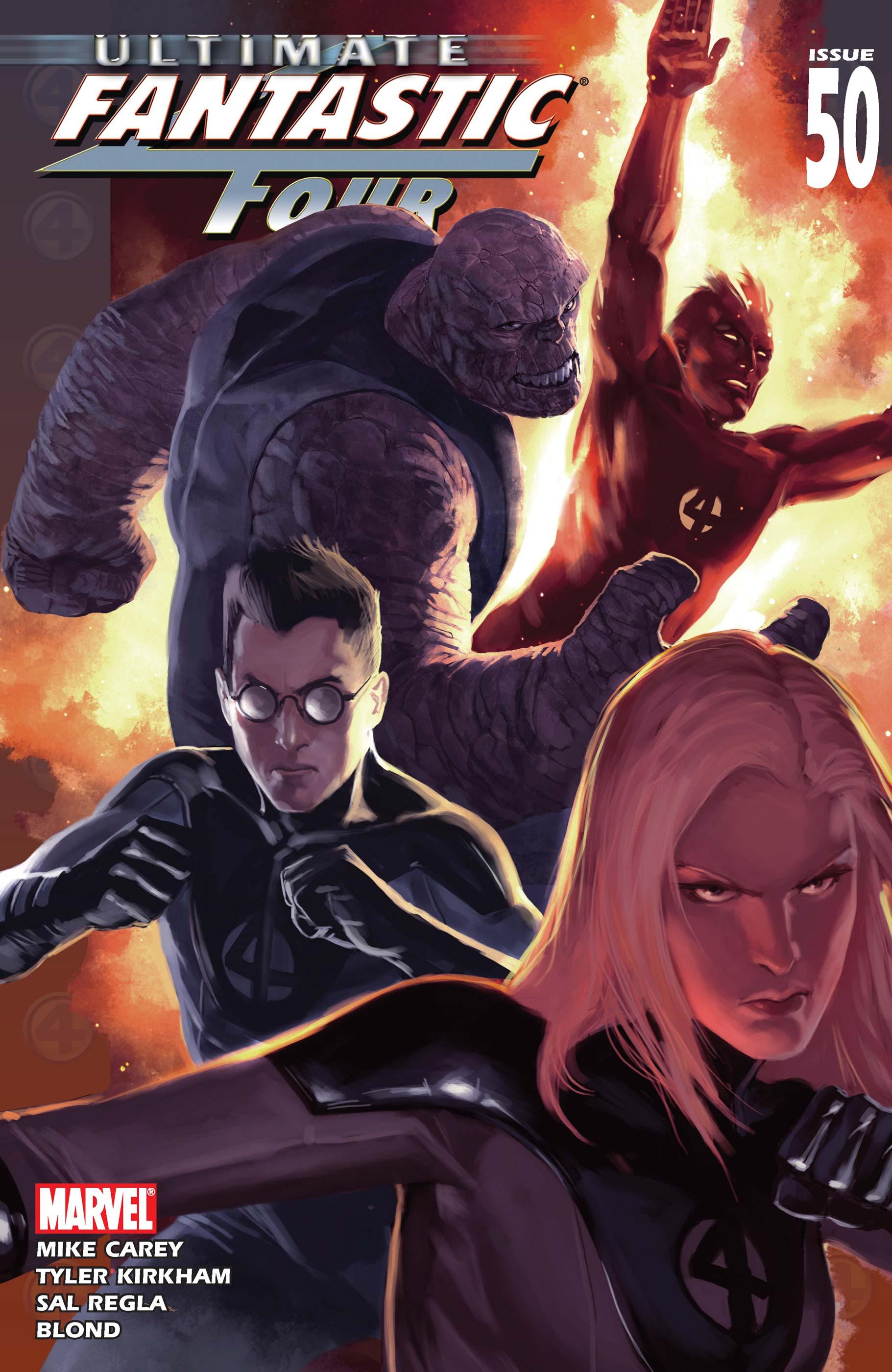 Ultimate Fantastic Four (2003) #50
