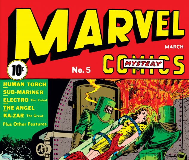 Marvel Mystery Comics (1939) #5
