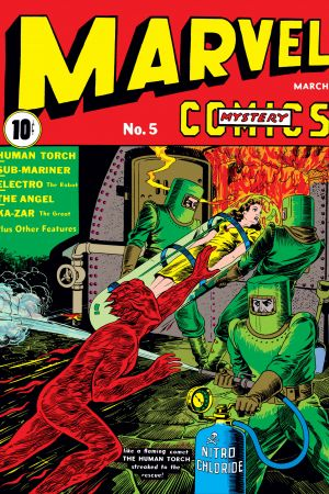 Marvel Mystery Comics #5
