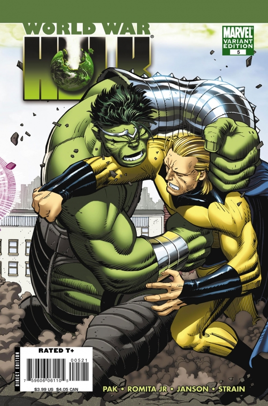 World War Hulk (2007) #5 (John Romita Jr. Variant)