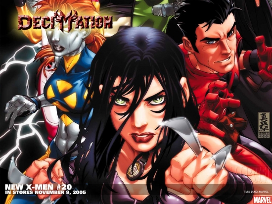 New X-Men (2004) #20 Wallpaper