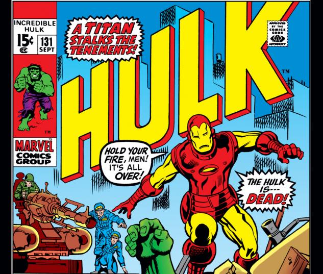Incredible Hulk (1962) #131 Cover