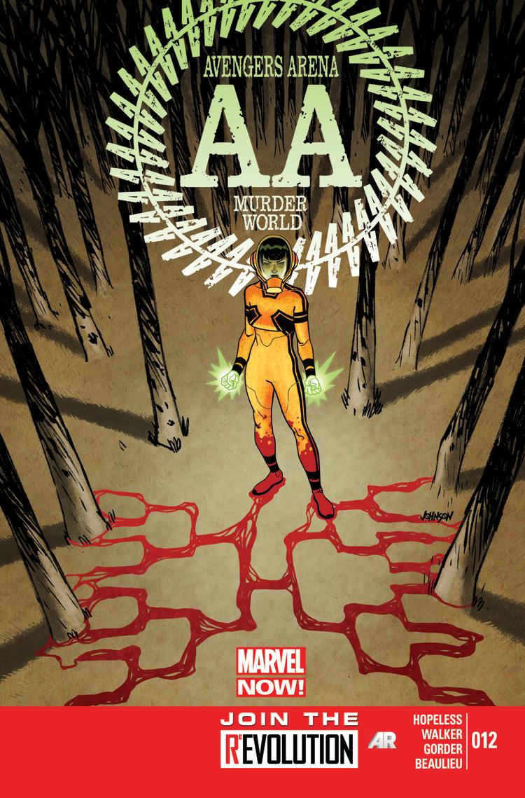 Avengers Arena (2012) #12